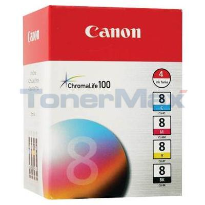 CANON CLI-8 INK TANK COLOR MULTI PACK